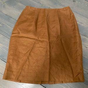 Carol Horn Signature Linen Skirt 💰